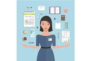 מזכירה- מנהלת משרד